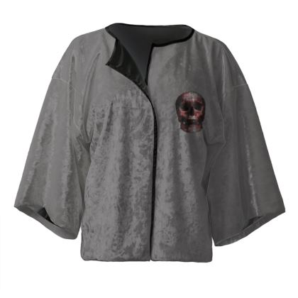 Kimono Jacket - Cheerful Skull