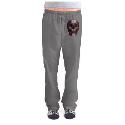 Ladies Pyjama Bottoms - Cheerful Skull