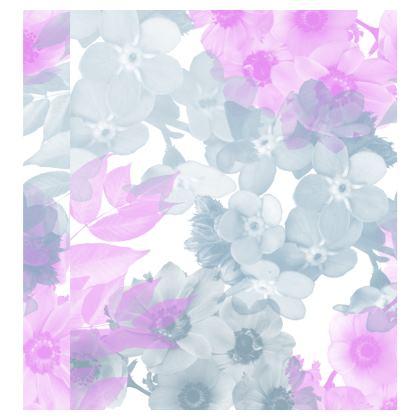 Ladies T Shirt - Grey & Pink Floral