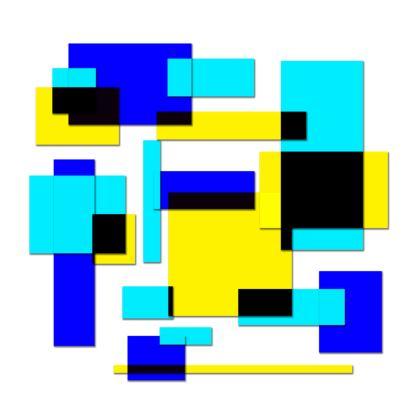 Kimono - Bright Squares