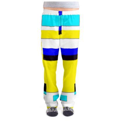 Ladies Pyjama Bottoms - Bright Squares