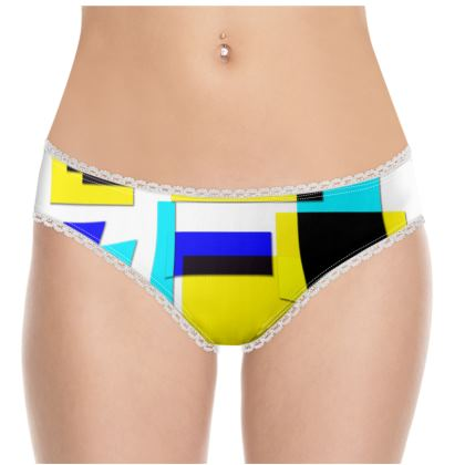 Knickers - Bright Squares