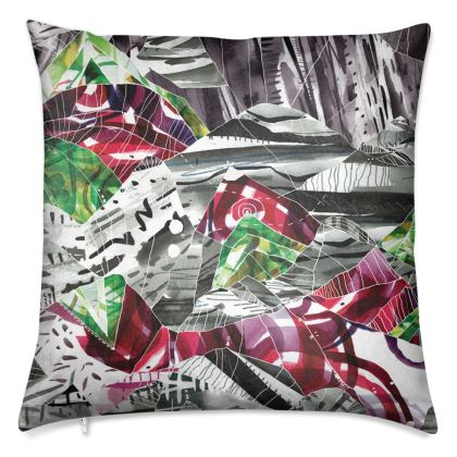 Dreaming of Mountains Luxury Printed Cushions