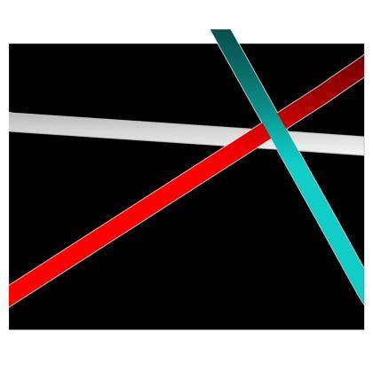 Kimono - Regal Stripes (Black)