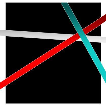 Kimono Jacket - Regal Stripes (Black)
