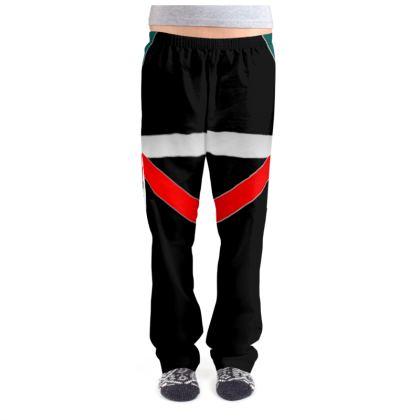 Ladies Pyjama Bottoms - Regal Stripes (Black)