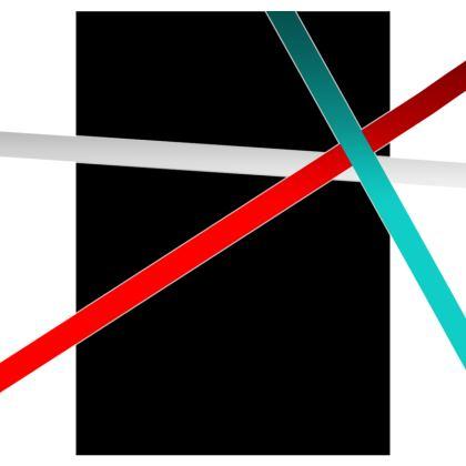 Dressing Gown - Regal Stripes (Black)