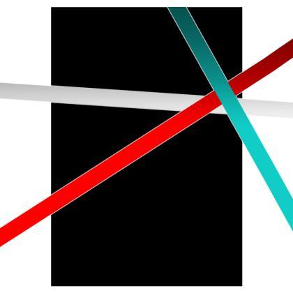 Socks - Regal Stripes (Black)
