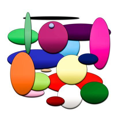 Kimono - Random Circles