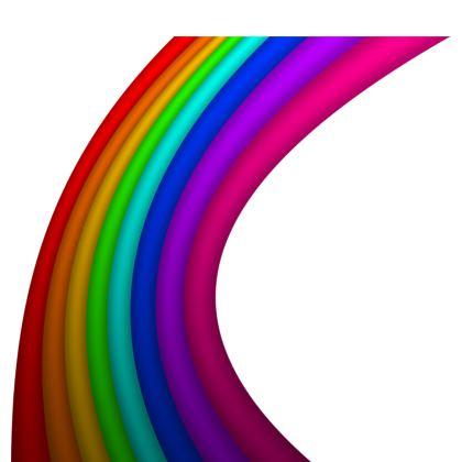 Kimono - Rainbow