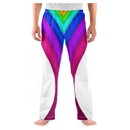 Men's Pyjama Bottoms - Rainbow