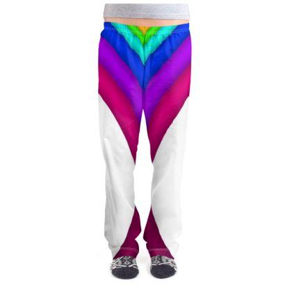Ladies Pyjama Bottoms - Rainbow