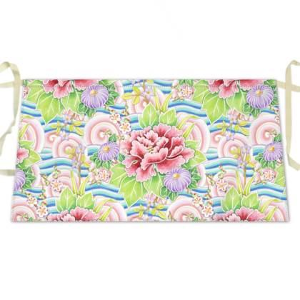 Kimono Bouquet Waist Apron