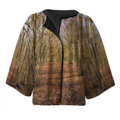 Kimono Jacket - Open Clearing in Clapham Woods