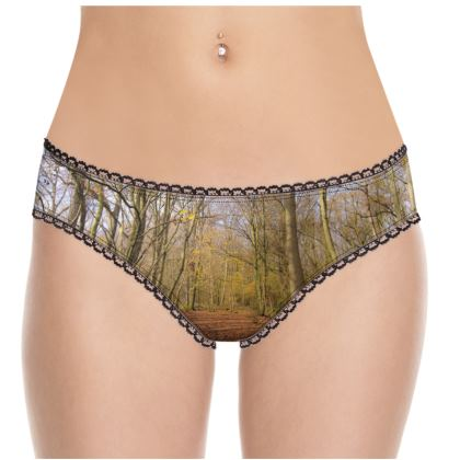 Knickers - Open Clearing in Clapham Woods