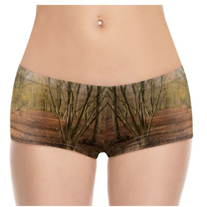 Hot Pants - Open Clearing in Clapham Woods