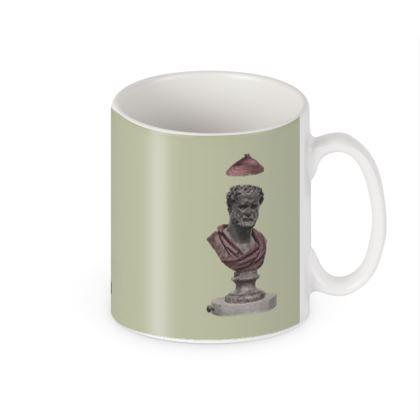 Heraclitus of Ephesus Victorian builders mug