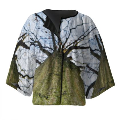 Kimono Jacket - Vertical Tree