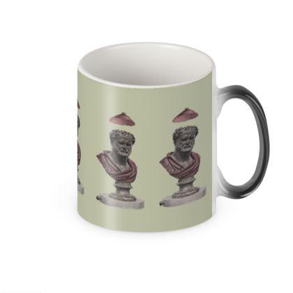 Heraclitus of Ephesus Victorian changing mug