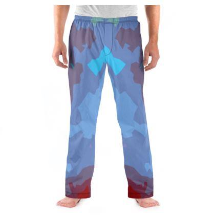 Men's Pyjama Bottoms - Abstract Colours