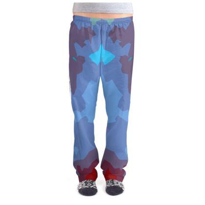 Ladies Pyjama Bottoms - Abstract Colours