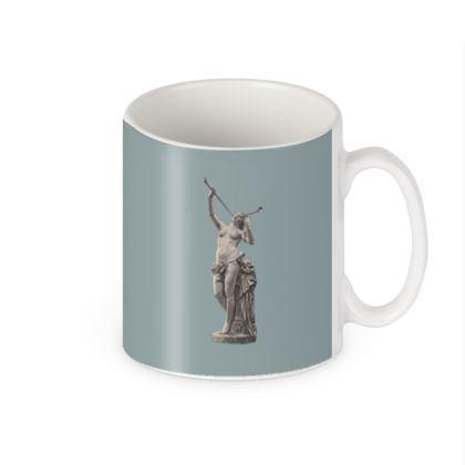 Angel of Annunciation Victorian builders mug