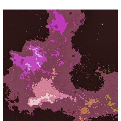 Kimono - Pink Ion Storm Abstract