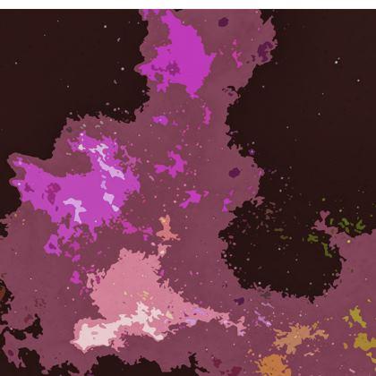 Kimono Jacket - Pink Ion Storm Abstract