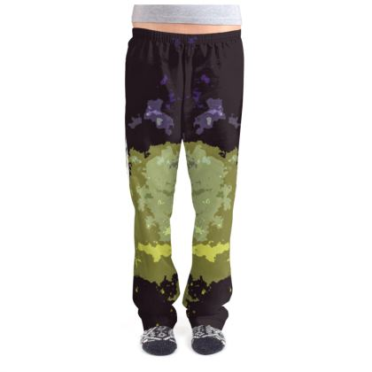 Ladies Pyjama Bottoms - Space Explosion Abstract