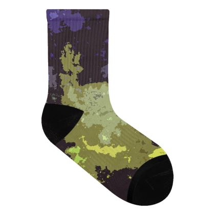 Socks - Space Explosion Abstract