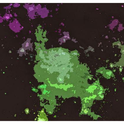Kimono Jacket - Elerium Chemical Explosion Abstract