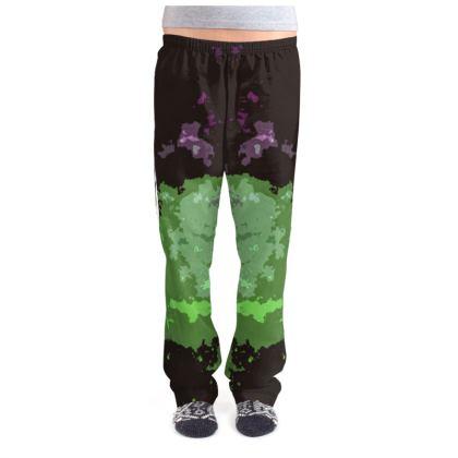 Ladies Pyjama Bottoms - Elerium Chemical Explosion Abstract