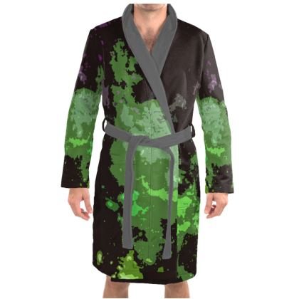 Dressing Gown - Elerium Chemical Explosion Abstract
