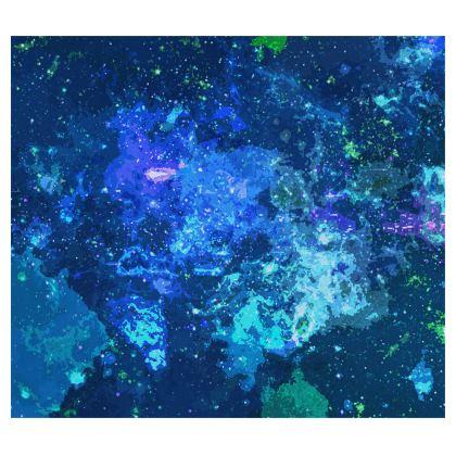 Kimono - Blue Nebula Galaxy Abstract