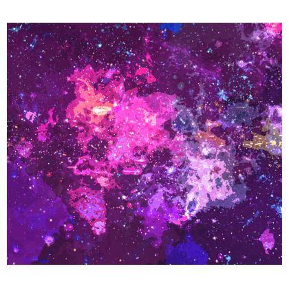 Kimono - Pink Nebula Galaxy Abstract