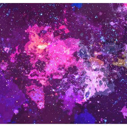Kimono Jacket - Pink Nebula Galaxy Abstract
