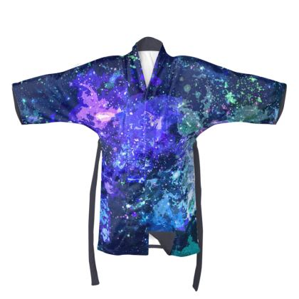 Kimono - Purple Nebula Galaxy Abstract