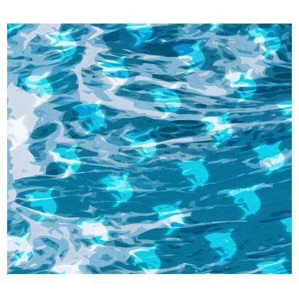 Kimono - Shark Ocean Abstract