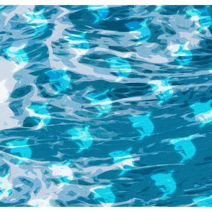 Kimono Jacket - Shark Ocean Abstract