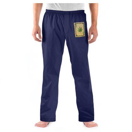 Men's Pyjama Bottoms - Ace of Weed