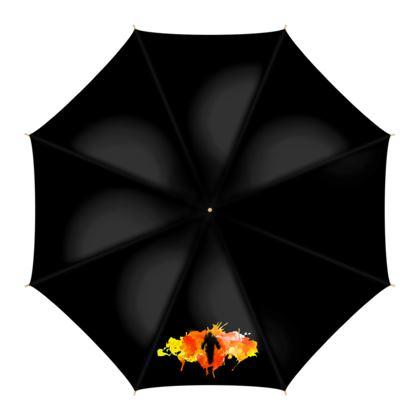 Umbrella - Fire Man