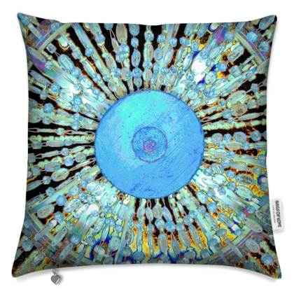 PRINTED CUSHION IN CHANDELIER