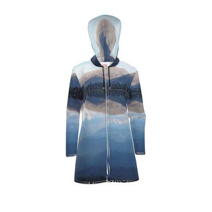 Women's Hooded Rain Mac - Lake District