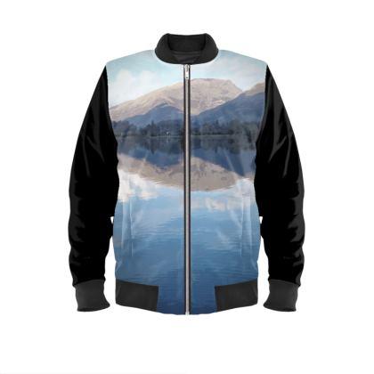 Men's Bomber Jacket - Lake District (No Sleeve)