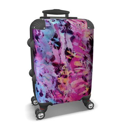 Suitcase Watercolor Texture 7