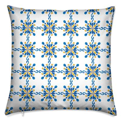 Pattern #38 Moroccan style cushions (Set of 2)