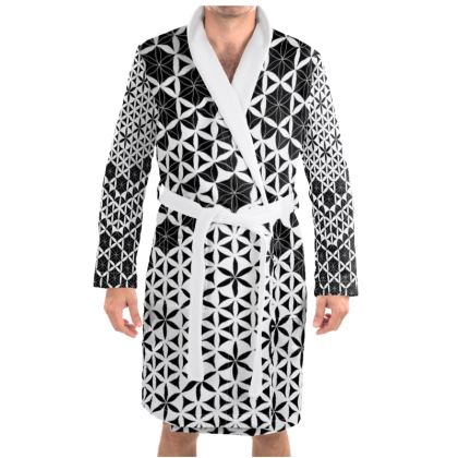 Dressing Gown Flower Of Life 1