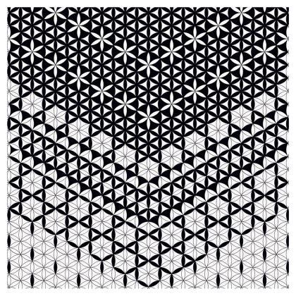 Flared Skirt Flower Of Life 01
