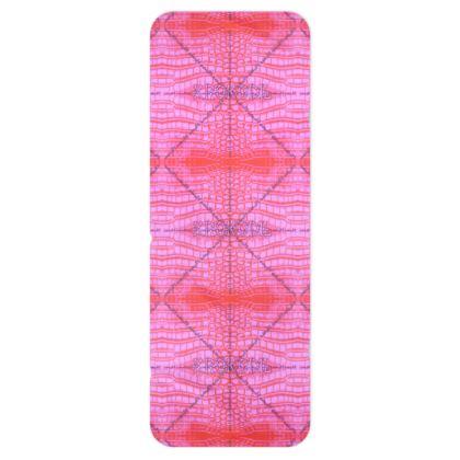 XXL FLEECE Schal Pink Krokodil