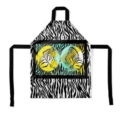Cape Mountain Zebra Childrens Apron
